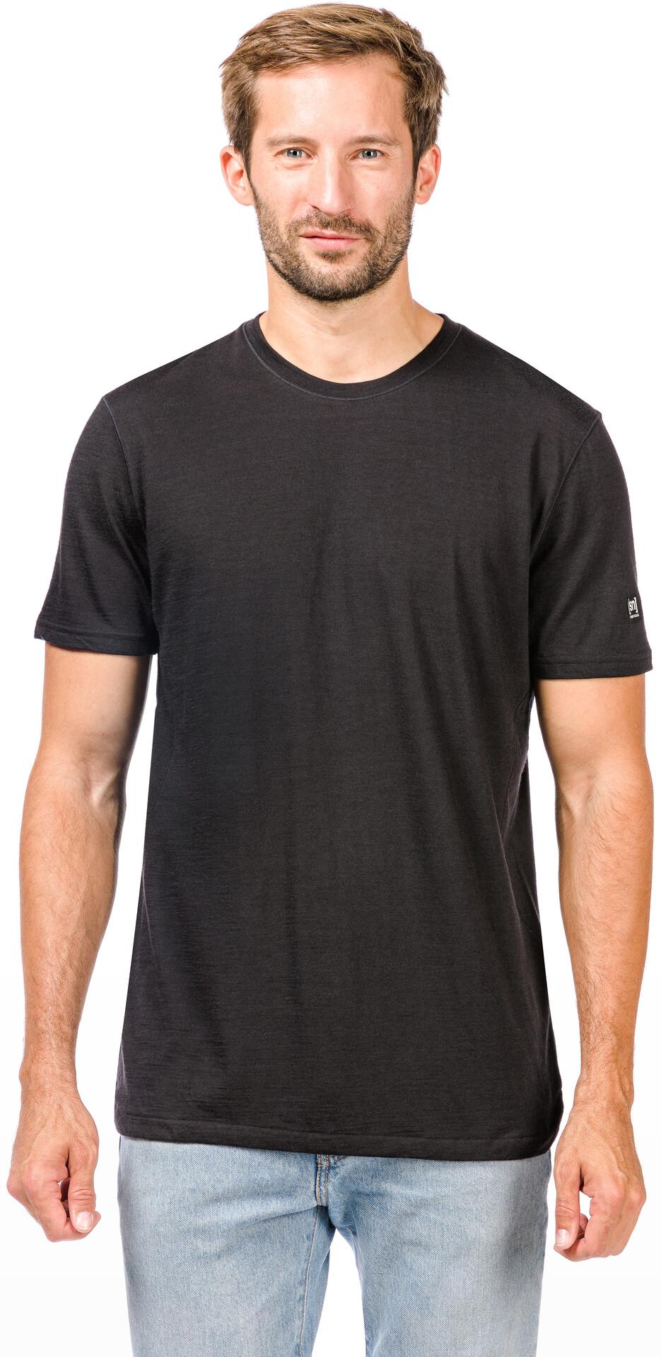 Shirt Homme Super Motion Courtes natural Noir T Manches 345RqjLA
